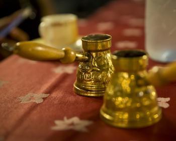 Arabischer Kaffee Zubereitung