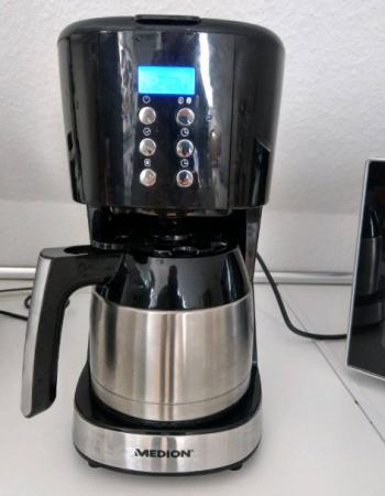 Kaffeemaschine Timer