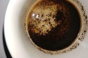 Kaffeesatz anwendungen Gesichtsmaske