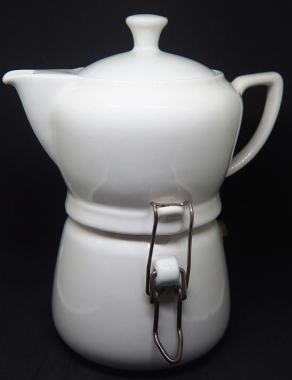 Porzellan Espressokocher