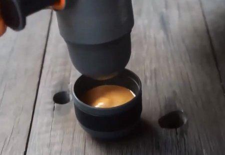 Reisekaffeemaschine